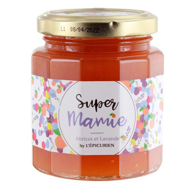 Confiture super mamie (abricot et lavande) - L´Epicurien