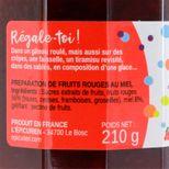 Confiture rien que pour toi 210 g  (fruits rouges et miel) - L´Epicurien