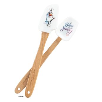 Set 2 mini spatules enfant Frozen reine des neiges - Nordic Ware
