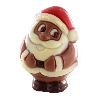 CHOCOLAT PÈRE NOEL ET BONHOMME 40G - BELFINE