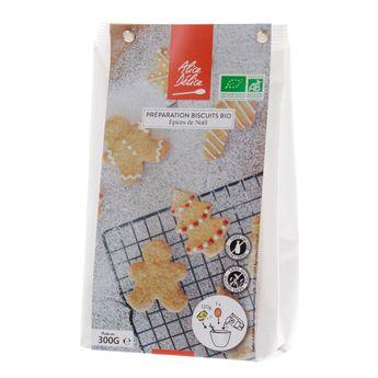 Achat en ligne Préparation biscuit épices de Noël bio 300gr sans gluten - Alice Délice