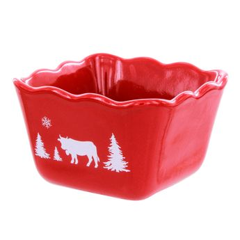 Ramequin rouge frise 10cm - Table & Cook