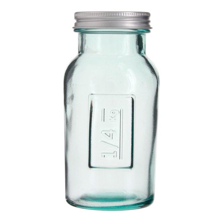 Bocal en verre recyclé  250 ml - Vidrios