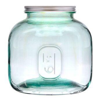 Achat en ligne Boîte de conservation en verre recyclé 6 L - Vidrios
