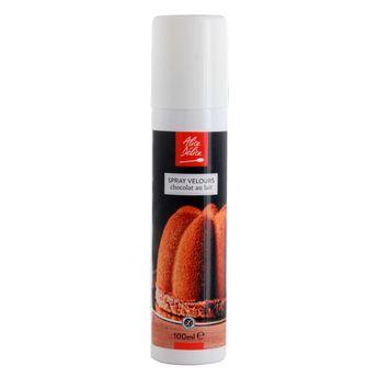 Spray velours chocolat au lait 100ml - Alice Délice