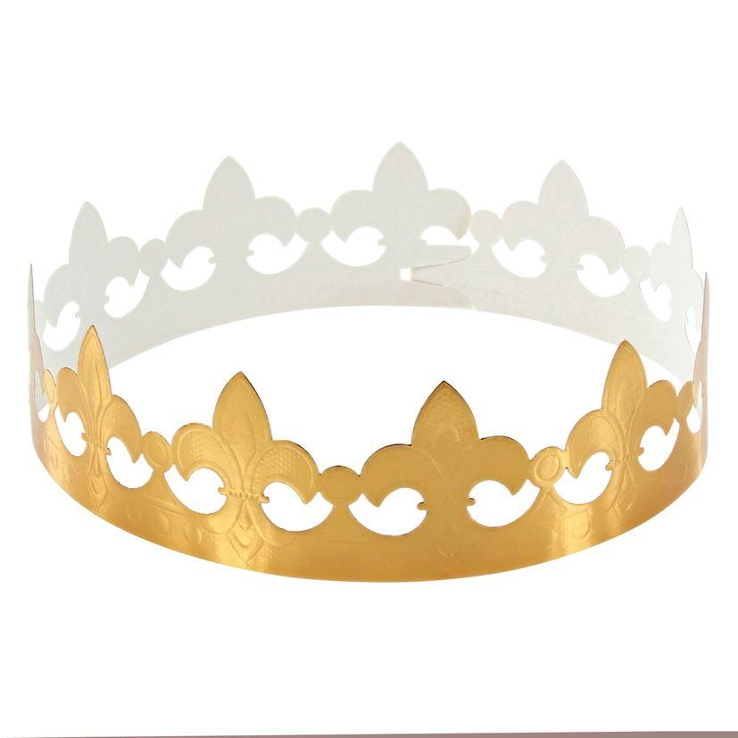 Couronne des rois dorée épiphanie - DAUDIGNAC