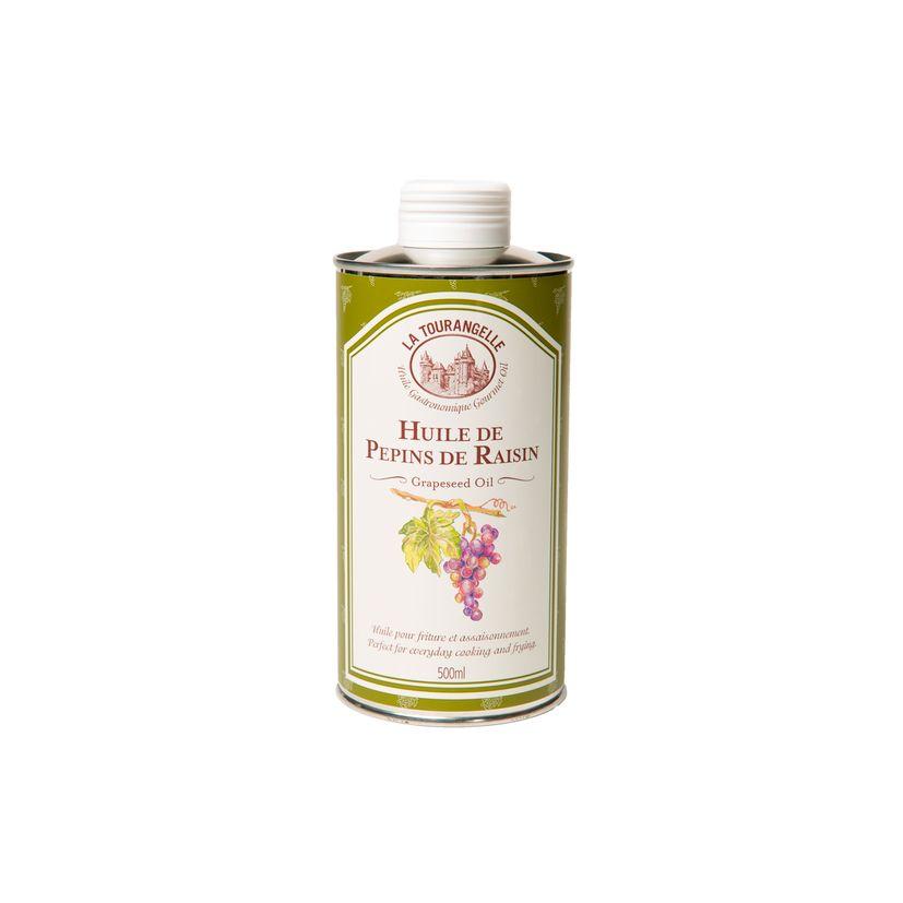 Huile vierge de pépins de raisin 500ml - La Tourangelle