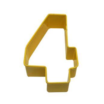 Achat en ligne Emporte pièce jaune chiffre 4 - Anniversary House
