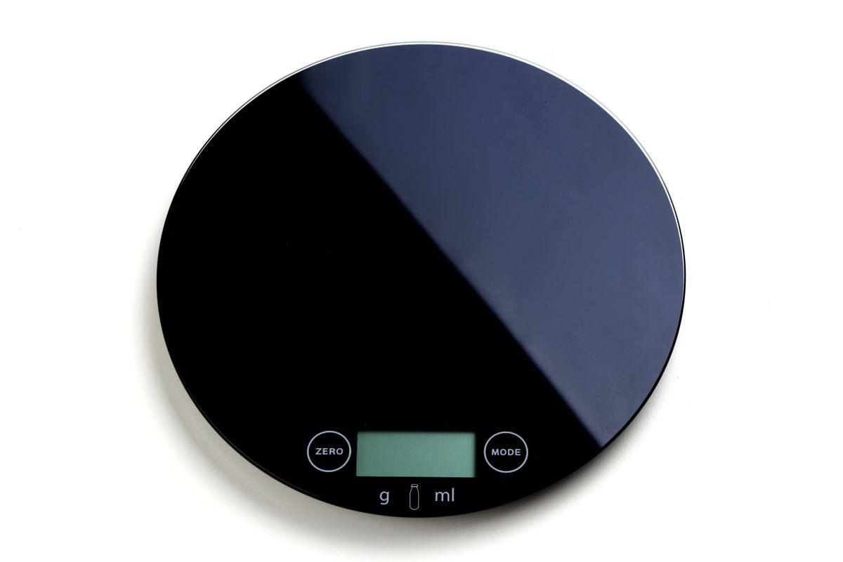 Balance de cuisine ronde noire - Zodio