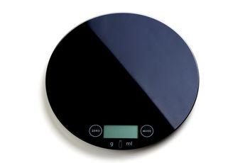 Achat en ligne Balance de cuisine ronde noire - Zodio