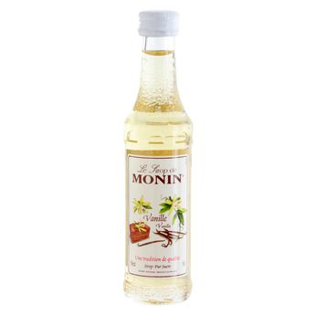 Achat en ligne Mignonette sirop - vanille 5cl - Monin