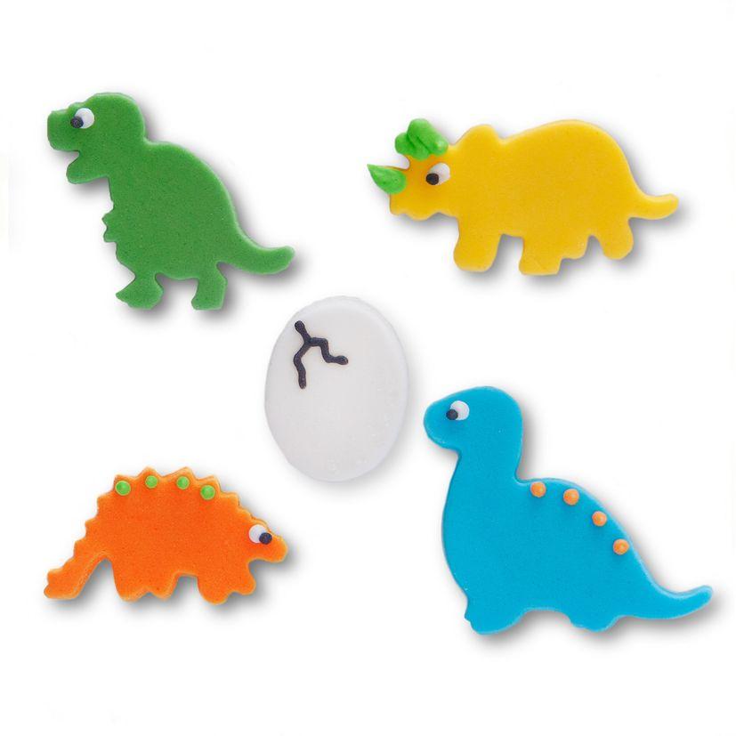Sucre décoratifs dinosaures - Anniversary House