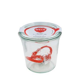 Achat en ligne Bocal de conservation hermétique en verre avec clips et joints 580 ml diamètre 100 mm - Weck