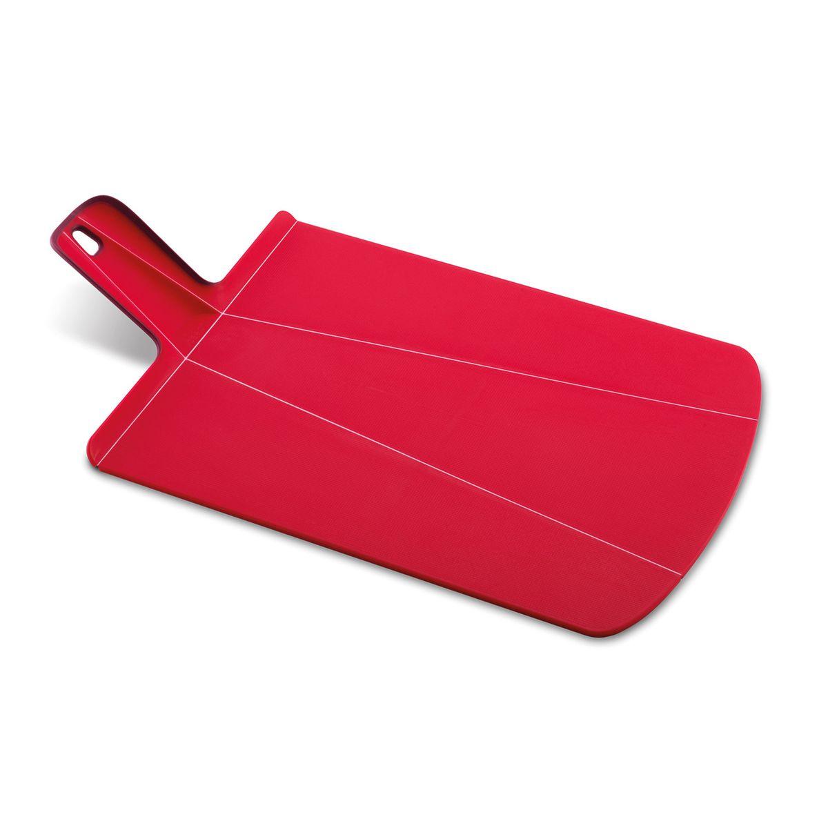 Planche pliable Chop2pot grand modèle rouge - Joseph Joseph