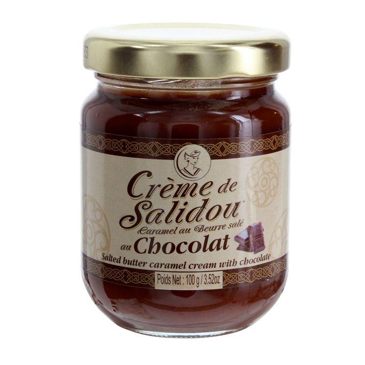 Crème de salidou au chocolat 100 gr - La Maison d´Armorine