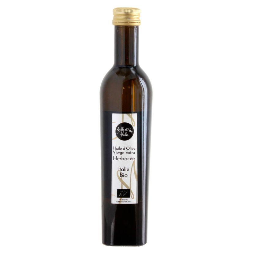 Huile olive bio herbacée - Mille et une Huiles