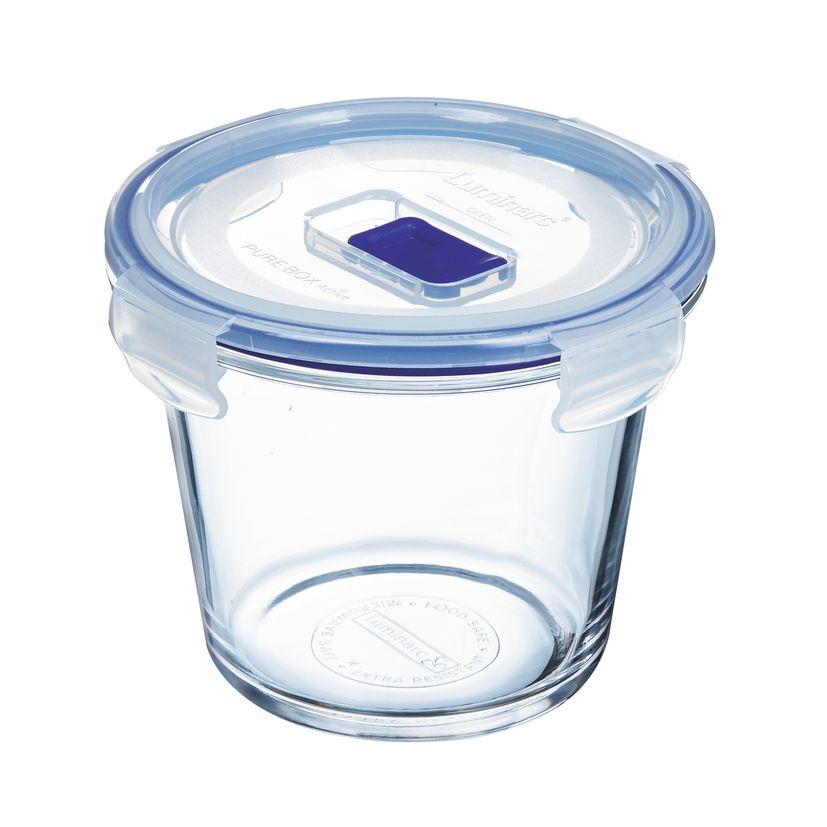 Boite hermétique Pure Box ronde en verre 84cl 3.8x23 cm - Luminarc