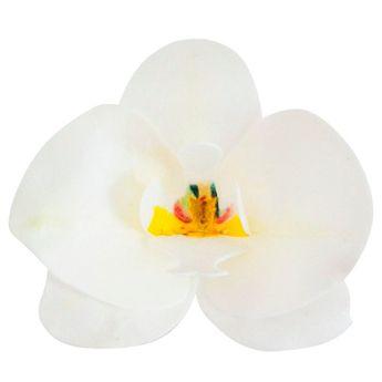 10 orchidées en azyme blanc 8.5 x 7.5 cm - Dekora