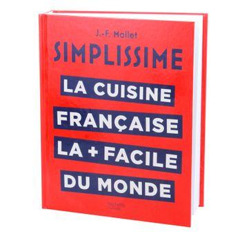 Achat en ligne Simplissime cuisine française - Hachette pratique