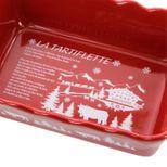 Plat tartiflette rouge 27cm - Table & Cook