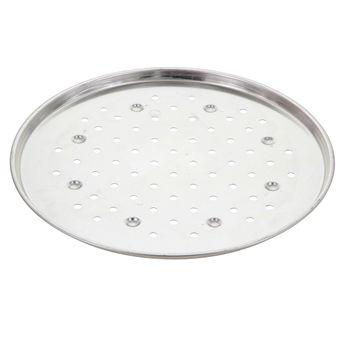 Achat en ligne Plaque à pizza fer blanc 34cm perforée - Alice Délice