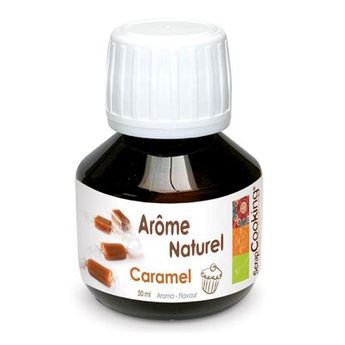 AROME NATUREL DE CARAMEL 50ML - SCRAPCOOKING