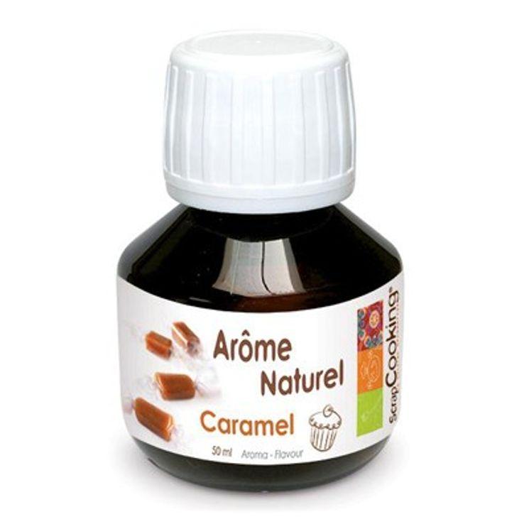 AROME NATUREL DE CARAMEL 50ML - SCRAPCOOKING