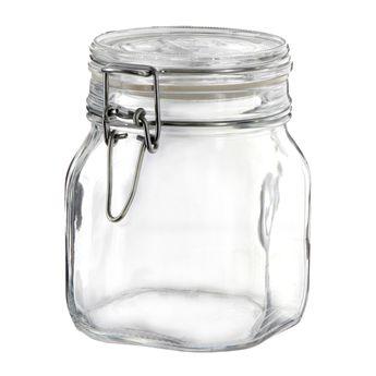 Achat en ligne Bocal de conservation en verre Fido 0.75 L - Bormioli