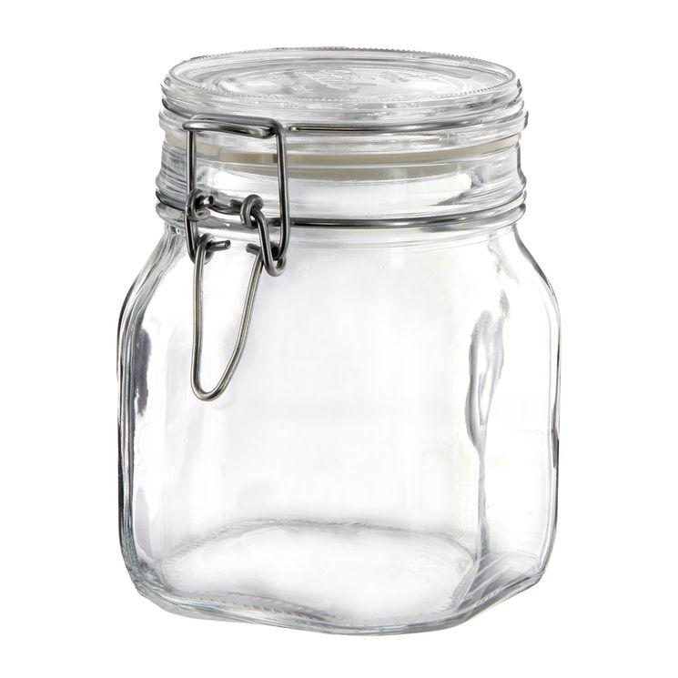 Bocal de conservation hermétique en verre Fido 0.75L - Bormioli
