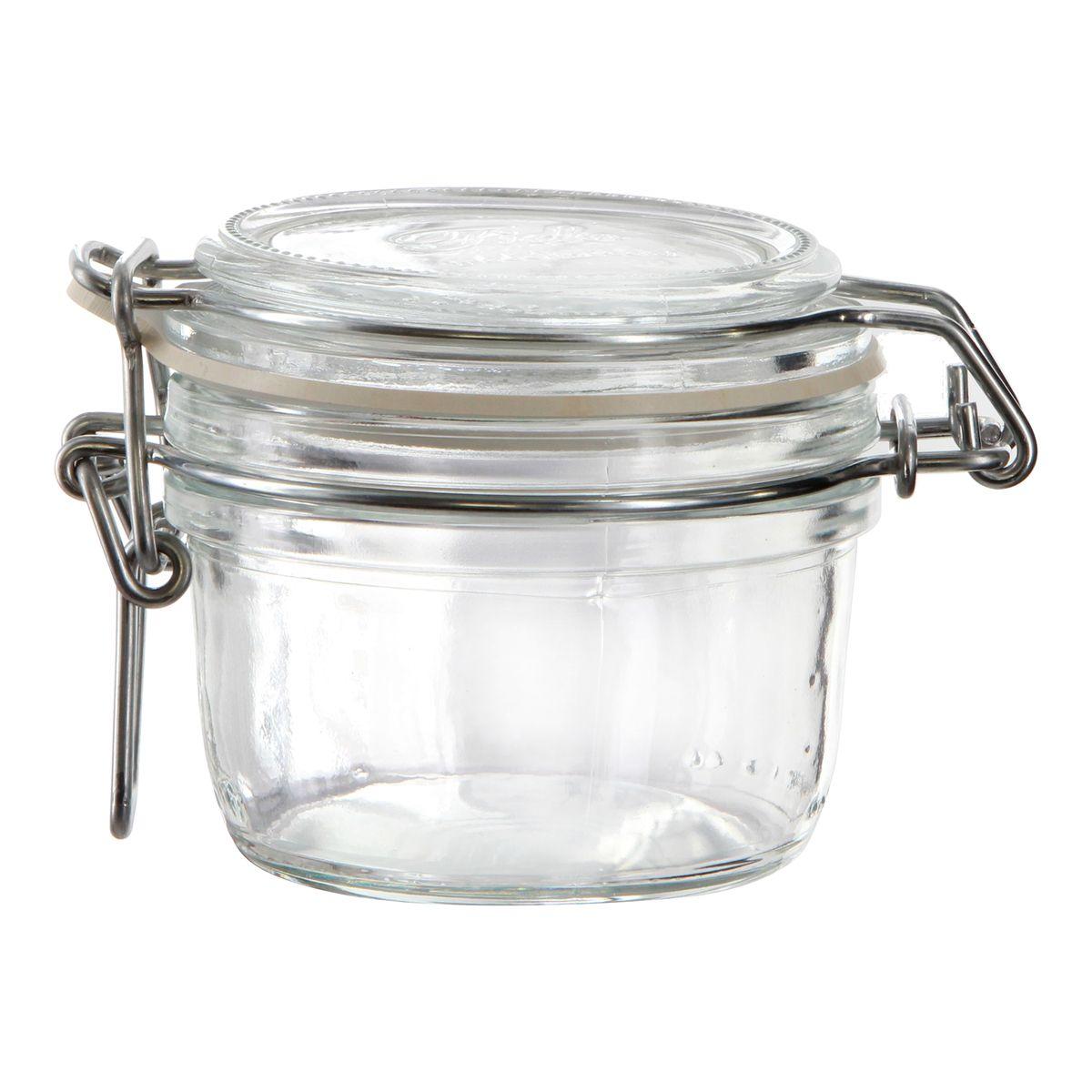 Bocal de conservation hermétique en verre Fido 0.125L - Bormioli