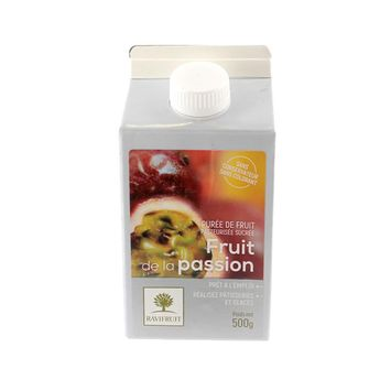 Achat en ligne Purée de passion 500 ml - Ravifruit