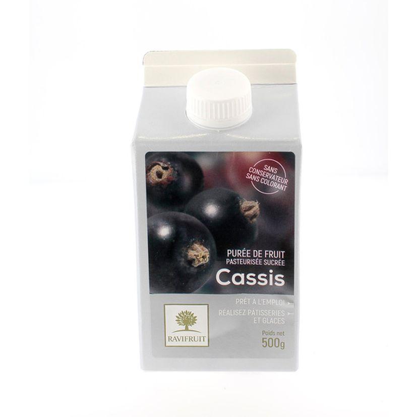 Purée de cassis 500 ml - Ravifruit