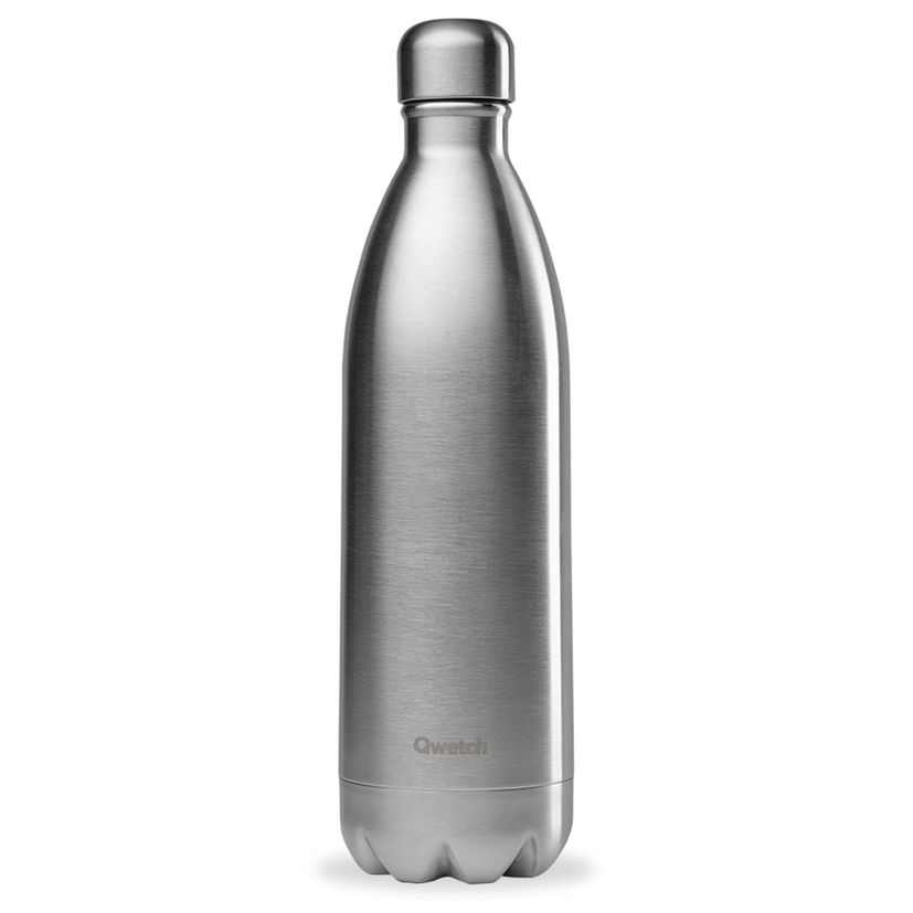 Bouteille isotherme inox 1000ml - Qwetch