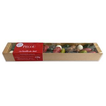 Achat en ligne Réglette La recette de Noël Pecou 120g