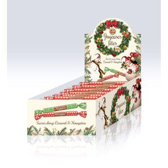 Achat en ligne Sucre d'orge caramel 16g - La Maison d'Armorine