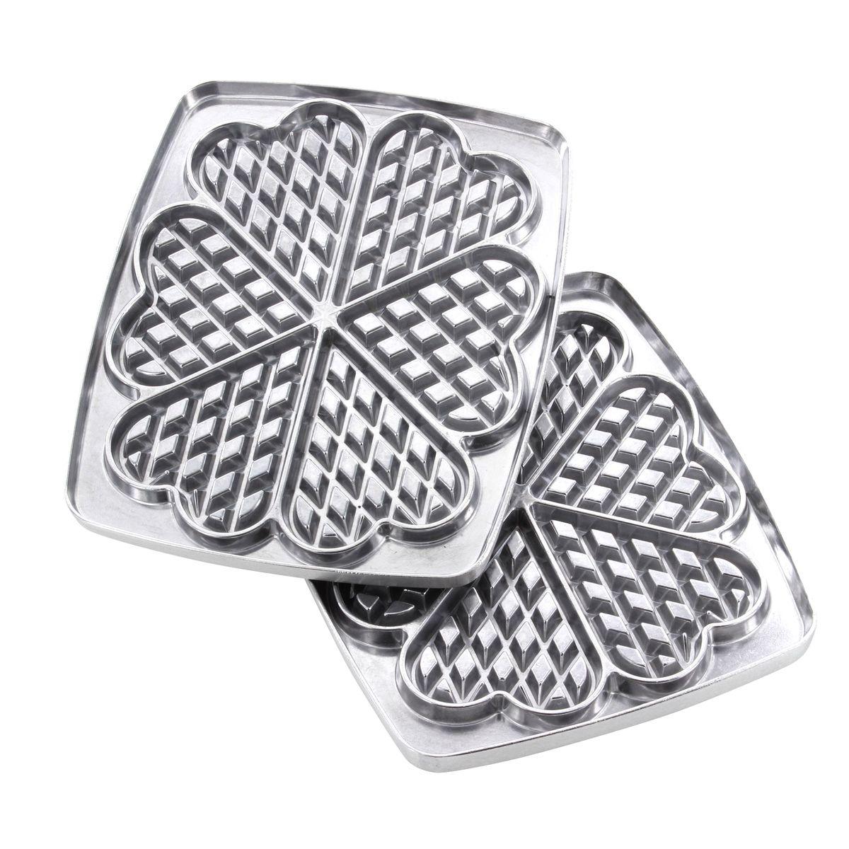 Accessoire : plaques 6 gaufres coeur pour gaufrier Super 2 - Lagrange
