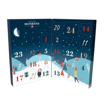 Achat en ligne Le calendrier de l'avent illustre 97g - Monbana