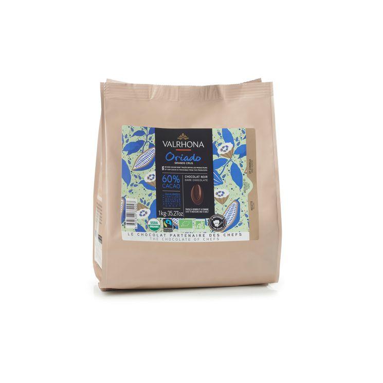 Chocolat noir à pâtisser Oriado Bio équitable 60% 1kg - Valrhona