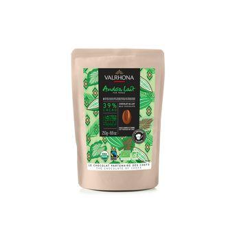 Achat en ligne Chocolat au lait Andoa Lait Bio Equitable 39% 250g - Valrhona