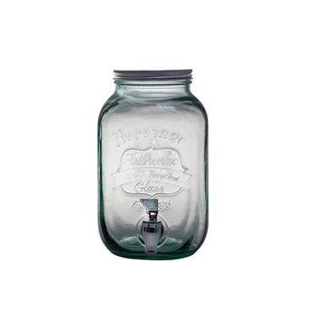 Achat en ligne Distributeur de boisson en verre recyclé 4 L - Vidrios