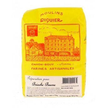 Achat en ligne Préparation pour brioche au beurre 1 kg - Moulins Riquier