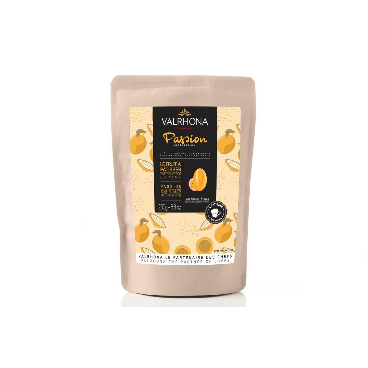 Chocolat à pâtisser inspiration passion 250g - Valrhona
