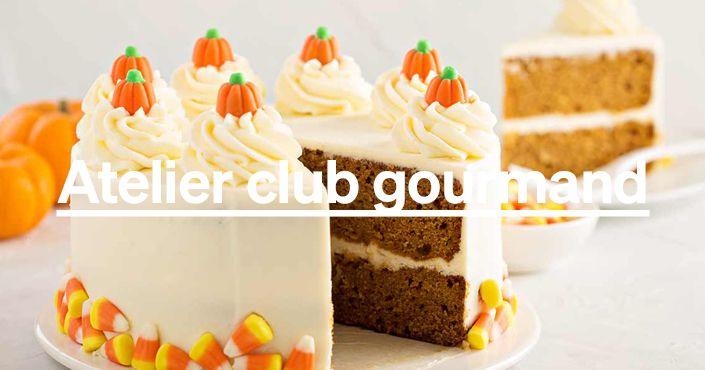 Gros gâteaux de saison