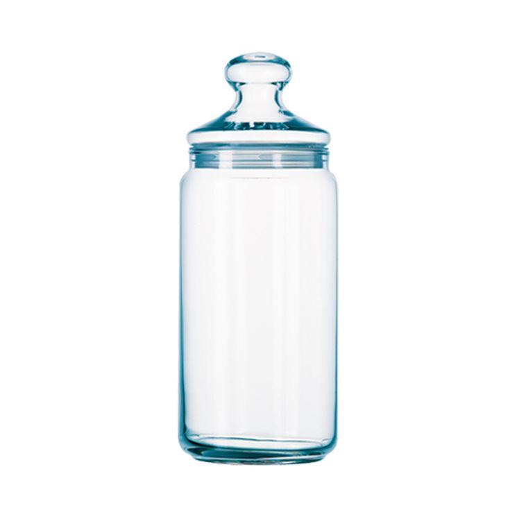Bonbonnière en verre 1L 10cmx10cmx20.5cm - Luminarc