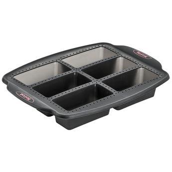 Achat en ligne Moule 6 mini cakes en silicone pour machine Cake Factory KD802112 - Tefal