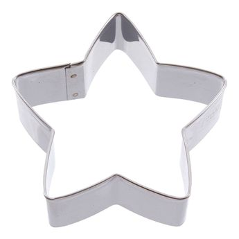 Achat en ligne Emporte-pièce en inox étoile 6 cm - Alice Délice