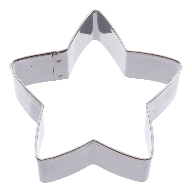 Emporte-pièce en inox étoile 6 cm - Alice Délice
