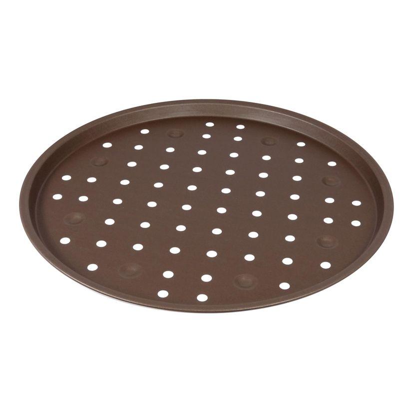 Plaque à pizza perforée revêtue diamètre 30 cm - Alice Délice