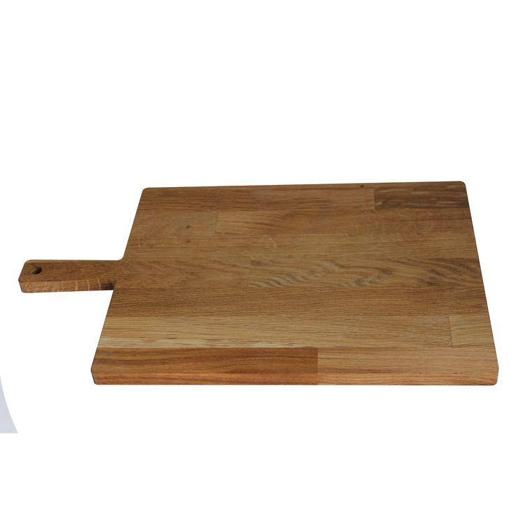 Planche à découper avec poignée chêne huilé 33 x  15,5 cm - Roger Orfevre