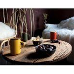 Tisanière en grès couvercle bois paprika 475ml - Ogo